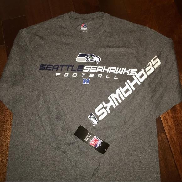 NWT  Men s Seattle Seahawks NFL Long Sleeve T 🏈 2379c353d